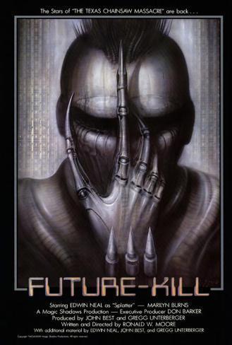 Future Kill ポスター