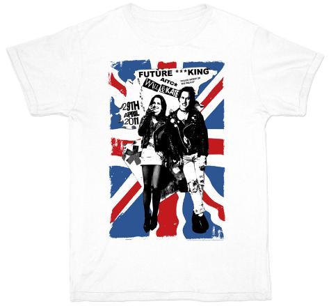 Future King- Union Jack T-Shirt