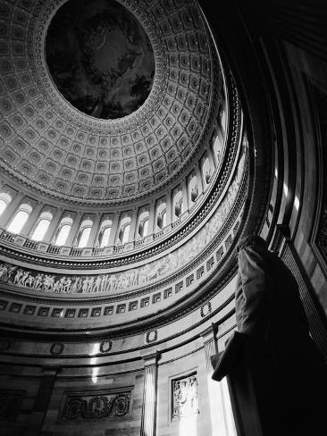 Rotunda of the United States Capitol Photographic Print