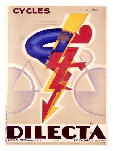 Cycles Dilecta Giclee Print