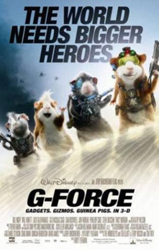 G-Force Dubbelsidig poster