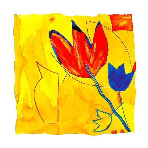 Flash Flowers IV Art Print