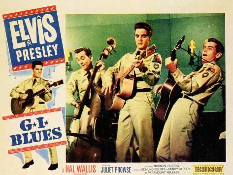 G.I. Blues, 1960 Art Print