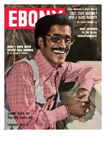 Ebony February 1976 Photographic Print