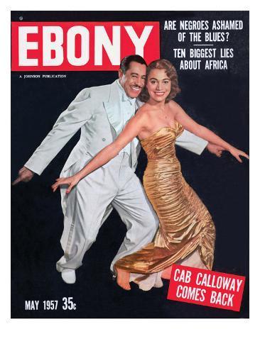 Ebony May 1957 Photographic Print