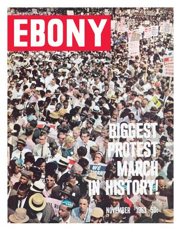 Ebony November 1963 Photographic Print