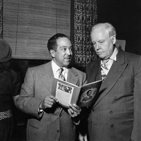 Langston Hughes, Carl Van Vechten Photographic Print