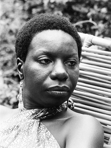 Nina Simone Photographic Print