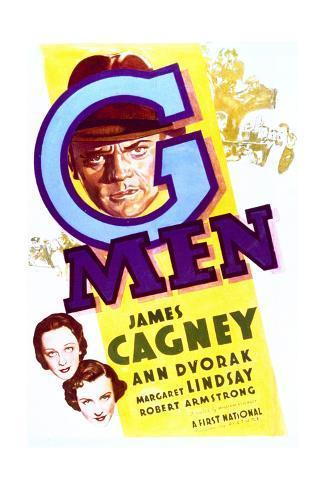 'G' Men - Movie Poster Reproduction Art Print