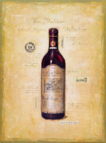 Vini Italiani Art Print