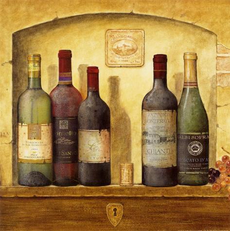 Wind Bottle Cluster IV Art Print