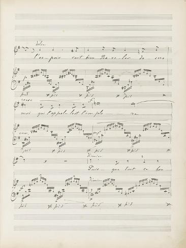 La bonne chanson. Voix, piano. Op. 61 : Mélodie