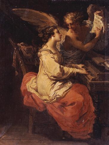 Saint Cecilia, 1791 Lámina giclée