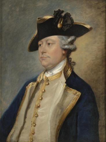 Portrait of Augustus Hervey, 3rd Earl of Bristol Giclee Print
