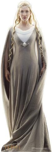 Galadriel - The Hobbit Movie Cardboard Stand Up Cardboard Cutouts