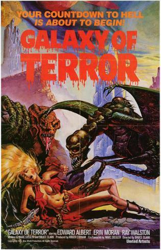 Galaxy of Terror Stampa master