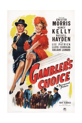 Gambler's Choice Giclee Print