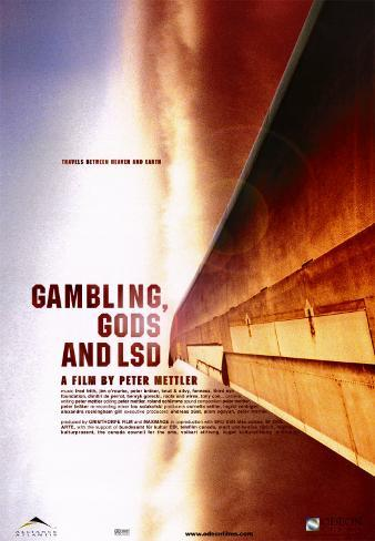 Gambling, Gods and LSD Poster