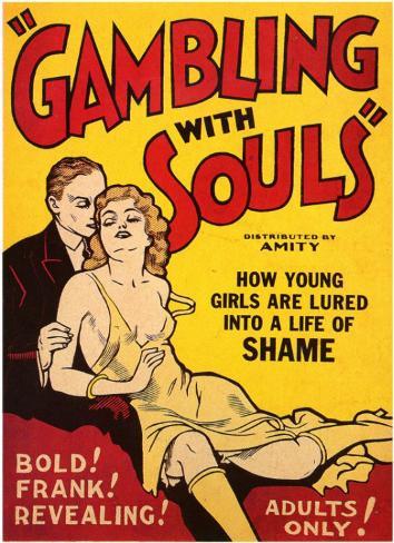 Gambling With Souls Masterprint