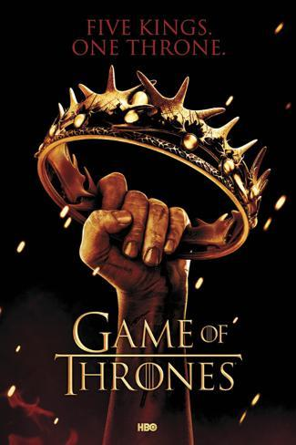 Game of Thrones-Crown Poster