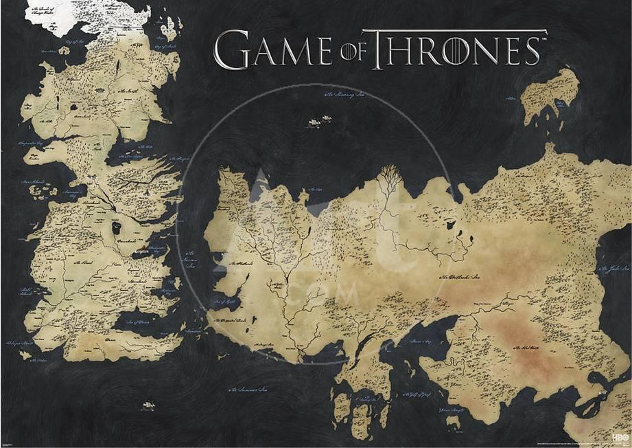 Game of thrones map of westeros essos huge tv poster posters at game of thrones map of westeros essos huge tv poster posters at allposters gumiabroncs Image collections