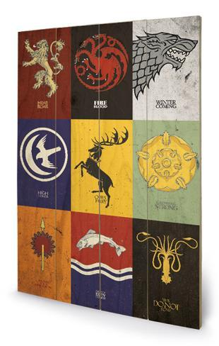 Game of Thrones - Sigils Wood Sign Wood Sign