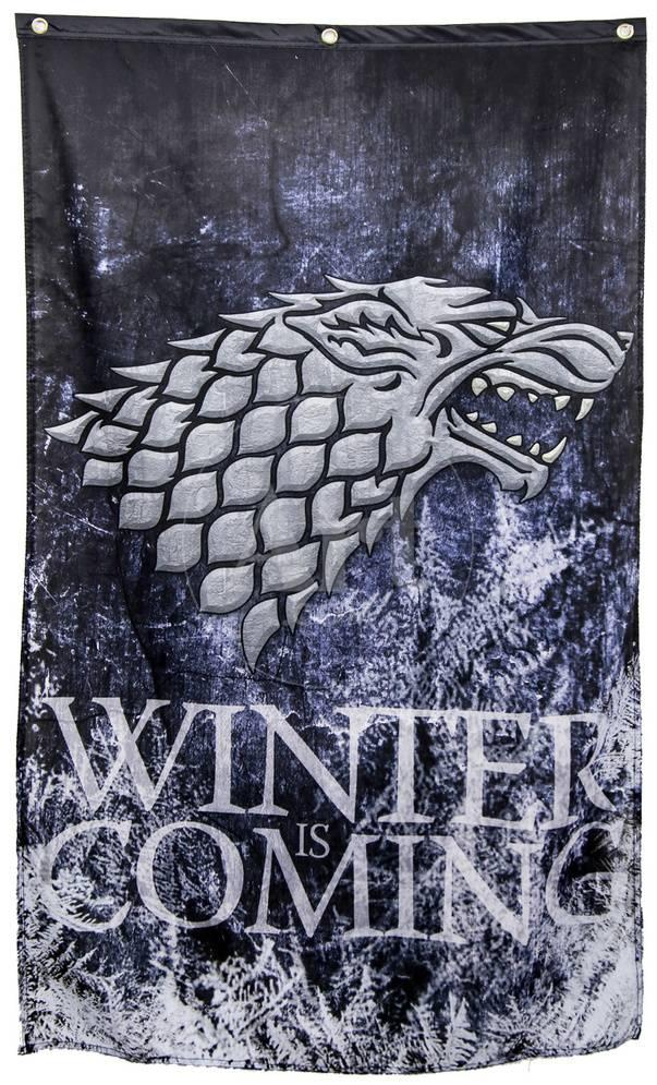 Game Of Thrones Stark Winter Is Coming Banner