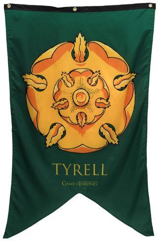 Game Of Thrones - Tyrell Banner Fabric Poster Pôster de tecido