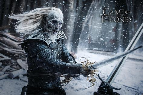 Game Of Thrones- White Walker Poster