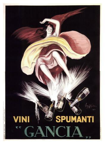Gancia, 1921 Giclee Print