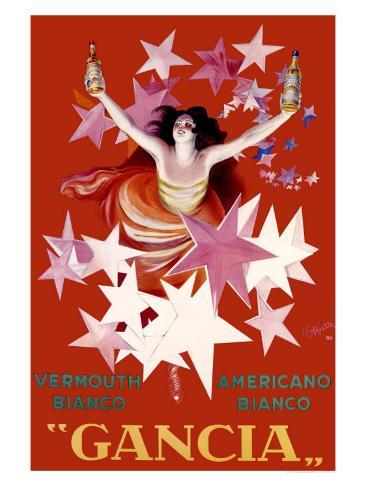 Gancia, Vermouth Bianco Giclee Print
