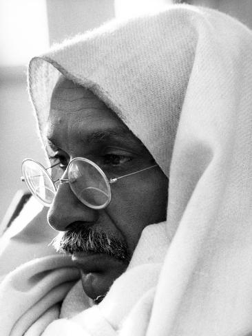 Gandhi, Ben Kingsley, (As Gandhi), 1982 Photo
