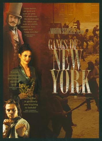 Gangs of New York Masterprint