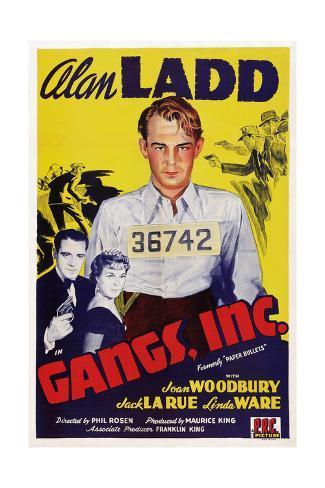 Gangs Giclee Print