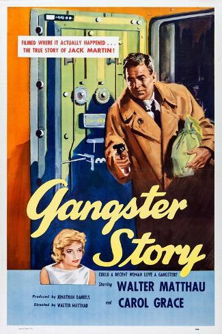 Gangster Story Art Print