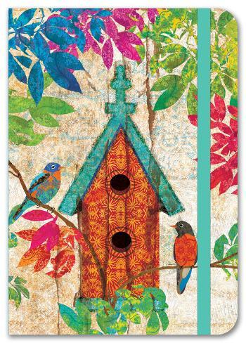 Garden Birdhouse Petite Journal Journal