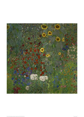 Garden/Sunflowers Lámina