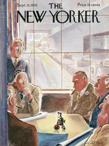 The New Yorker Cover - September 15, 1945 Premium Giclee Print