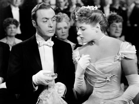 Gaslight, Charles Boyer, Ingrid Bergman, 1944 Photo