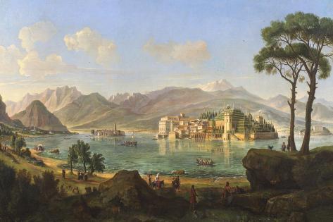 Borromean Islands Giclee Print