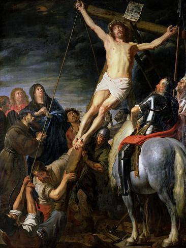 Raising the Cross, 1631-37 Lámina giclée