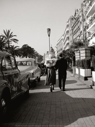 Nice, La Promenade des Anglais Art Print