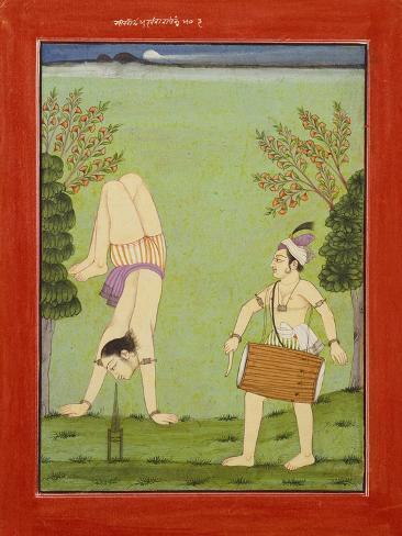 Gauda Raga: Third Putra of Dipak, C.1750 Stampa giclée