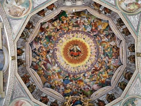 The Concert of Angels, from the Dome, 1534-35 Giclee Print