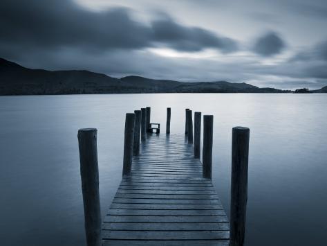 Barrow Bay, Derwent Water, Lake District, Cumbria, England Photographic Print