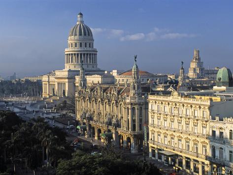 Capitolio National Building, Havana, Cuba Photographic Print