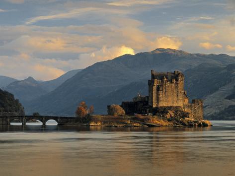 Eilean Donan Castle, Western Highlands, Scotland Photographic Print