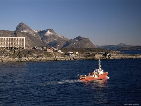 Godthabsfjord, Nuuk, Greenland, Polar Regions Photographic Print
