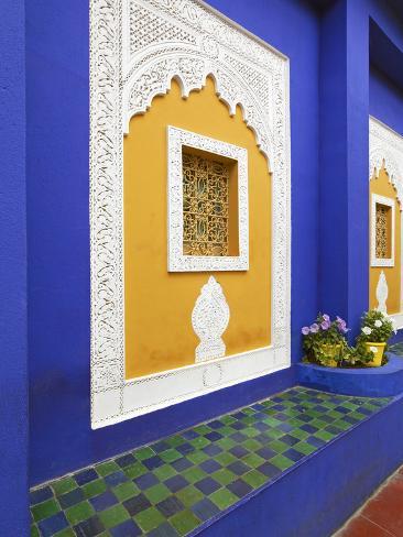 Majorelle Gardens, Marrakesh, Morocco, North Africa Photographic Print