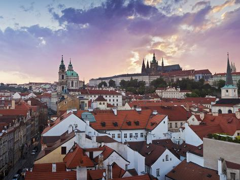 Mala Strana (Little Quarter), Prague, Czech Republic Photographic Print